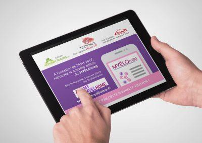Plateforme digitale MYELOmag