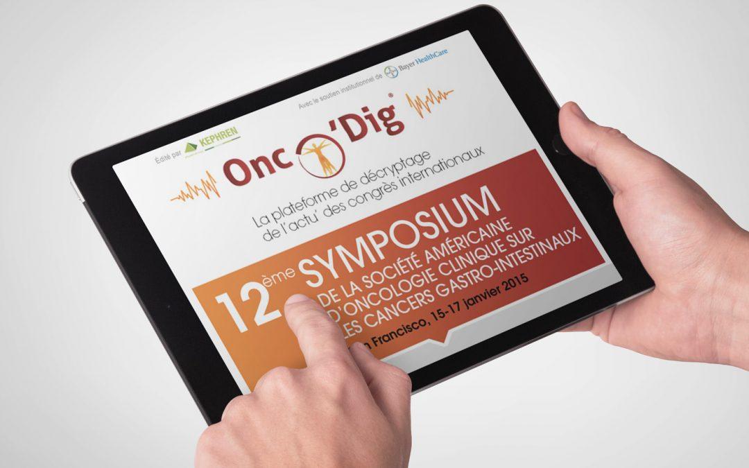Plateforme digitale Onco'Dig