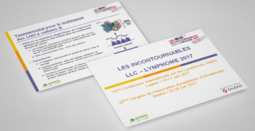 Les Incontournables LLC – Lymphome 2017