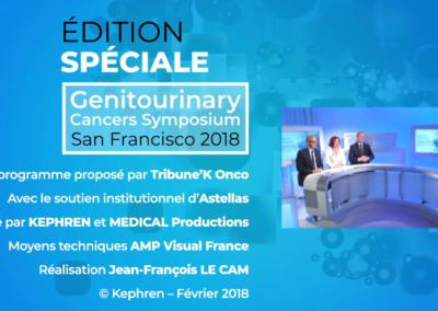 Web TV Edition spéciale ASCO GU 2018