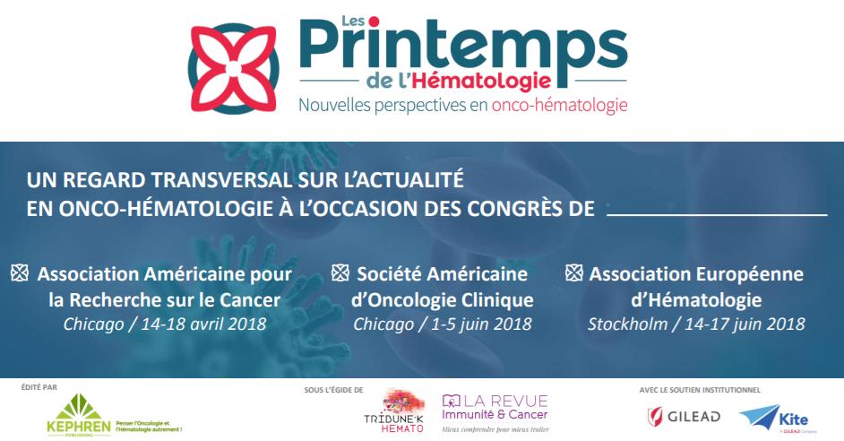 Les Printemps de l'Hématologie 2018