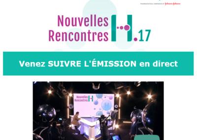 Web TV Nouvelles Rencontres de l'H.17