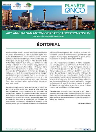 Magazine Annual San Antonio Breast Cancer Symposium 2018