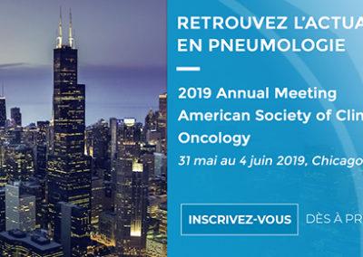 ASCO 2019 – Actualités en pneumologie