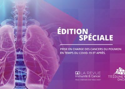 Emission «Cancers du poumon en temps du Covid-19»
