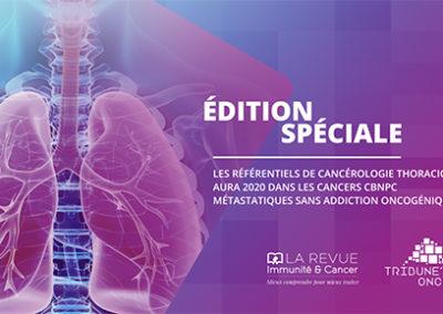 Emission «Les référentiels de cancérologie thoracique AURA 2020»