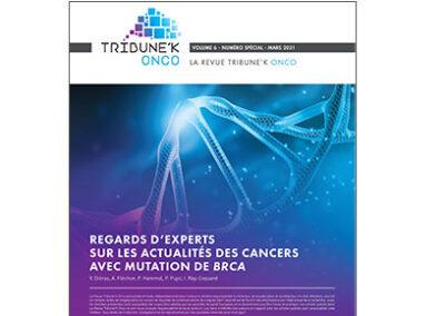 Brochure «Regards d'experts sur les actualités des cancers avec mutation de BRCA»